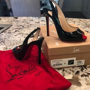Christian LouBoutin size 37 or 6.5 in US